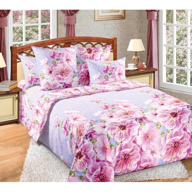 фото Комплект постельного белья Белиссимо «Миндаль». 2-спальный. Размер простыни: 160х200 см