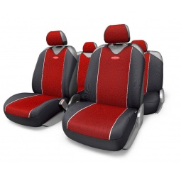 Купить Набор чехлов-маек для сидений Autoprofi CRB-902PZ Carbon Plus Zipper
