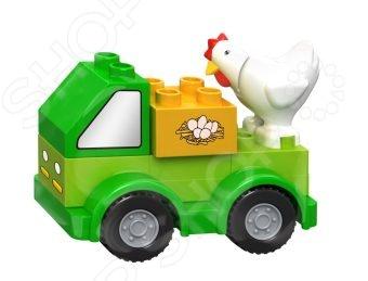 Конструктор игровой Dr.Luck «Машинка фермера»Игровые конструкторы<br>Конструктор игровой Dr.Luck Машинка фермера комплект, состоящий из деталей, с помощью которых можно собрать маленькую машинку для перевозки животных. Высокое качество пластика, дизайн деталей и точная инструкция позволят добиться результата быстрее. Отлично подойдет для веселой игры в компании друзей, в детском саду или дома. Этот конструктор является достаточно практичным учебным пособием, так как он развивает память, мышление, логику, фантазию, а также моторику рук.<br>