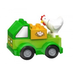 фото Конструктор игровой Dr.Luck «Машинка фермера»