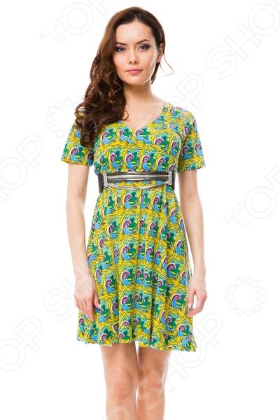 Платье Mondigo 8647. Цвет: желтый