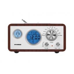 фото Радиобудильник Hyundai H-1611. Цвет: бордовый