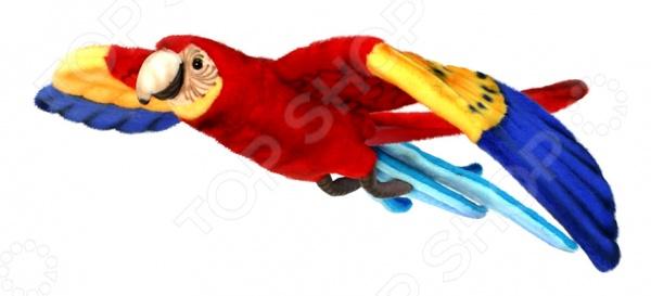 Мягкая игрушка Hansa «Попугай Ара летящий»