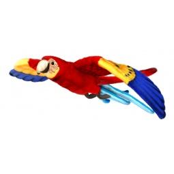 фото Мягкая игрушка Hansa «Попугай Ара летящий»