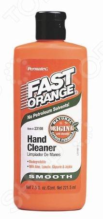 Смягчающий очиститель рук Permatex PR-23108 Fast Orange отличный выбор для профессиональных автомехаников. Он не только деликатно очистит ваши руки от различных загрязнений, но и защитит их от агрессивного воздействия химических веществ и реагентов. Средство не содержит в своем составе аммиак и растворители на нефтяной основе; обогащено экстрактом алоэ, ланолином и глицерином.