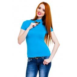 фото Водолазка Mondigo 037. Цвет: бирюзовый. Размер одежды: 46