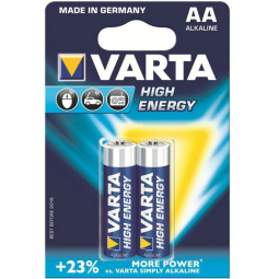 фото Элемент питания VARTA High energy AA 2 шт.