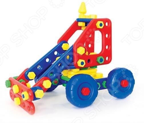 Конструктор для малышей Класата «Трактор ДЫР-ДЫР»Конструкторы для малышей<br>Конструктор для малышей Класата Трактор ДЫР-ДЫР прекрасный подарок для маленького конструктора! Комплект содержит детали, с помощью которых можно собрать интересную модель для игры. Все детали выполнены из нетоксичных материалов, поэтому полностью безопасны для ребенка. Игровой набор не только развлекает, но и помогает развивать мелкую моторику рук, логическое мышление и воображение ребенка.<br>