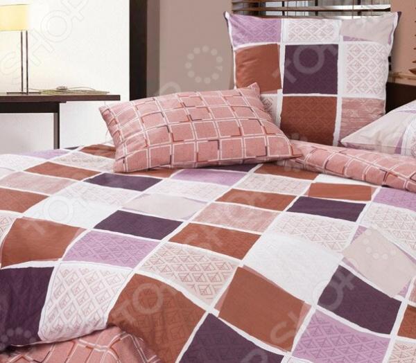 Комплект постельного белья Ecotex «Булонский лес». ЕвроЕвро<br>Комплект постельного белья Ecotex Булонский лес это удобное постельное белье, которое подойдет для ежедневного использования. Чтобы ваш сон всегда был приятным, а пробуждение легким, необходимо подобрать то постельное белье, которое будет соответствовать всем вашим пожеланиям. Приятный цвет, нежный принт и высокое качество ткани обеспечат вам крепкий и спокойный сон. 100 хлопок, из которого сшит комплект отличается следующими качествами:  достаточно мягка и приятна на ощупь, не имеет склонности к скатыванию, линянию, протиранию, обладает повышенной гигроскопичностью, практически не мнется, не растягивается, не садится, не выгорает, гипоаллергенна, хорошо отстирывается и не теряет при этом своих насыщенных цветов;  современная фотопечать прекрасно передаёт цвет и мельчайшие детали изображения;  за счёт специального переплетения волокон ткань устойчива к механическим воздействиям. Ткань устойчива к механическим воздействиям. Перед первым применением комплект постельного белья рекомендуется постирать. Перед стиркой выверните наизнанку наволочки и пододеяльник. Для сохранения цвета не используйте порошки, которые содержат отбеливатель. Рекомендуемая температура стирки: 40 С и ниже без использования кондиционера или смягчителя воды.<br>