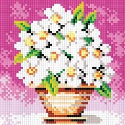 фото Набор для создания мозаики Белоснежка «Белоснежные цветы»