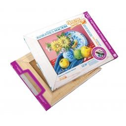 фото Набор для живописи масляными красками Фантазер «Натюрморт с яблоком»