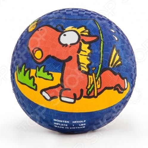 Мяч Larsen «Лошадь» хаха мяч rocking horse детский открытый фитнес игрушки музыкальные красочные надувные прыжки маккавеев толстый маленький лошадь