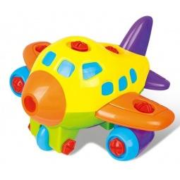 фото Конструктор для малышей Zhorya со светозвуковыми эффектами «Самолет»