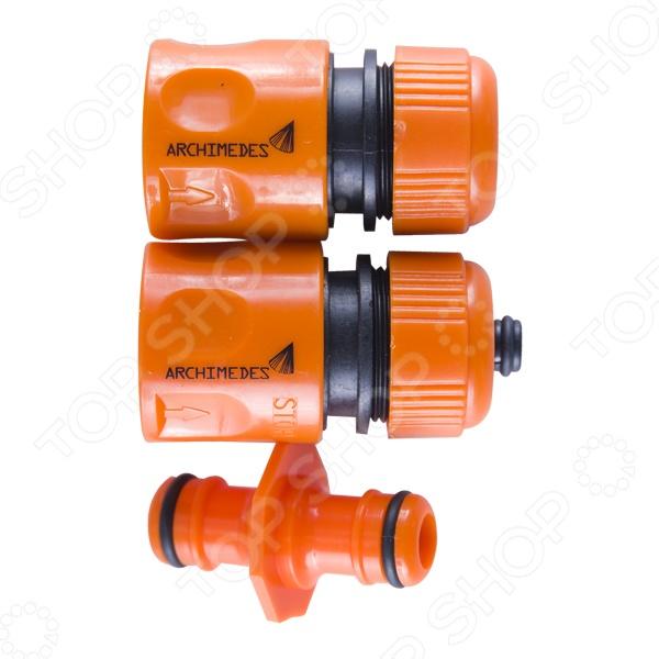 Набор коннекторов Archimedes 90997 коннектор с внешней резьбой archimedes 90916