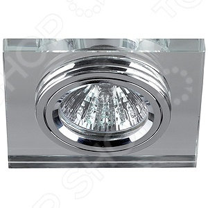 Светильник светодиодный встраиваемый Эра DK8 CH/WH