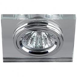 Купить Светильник светодиодный встраиваемый Эра DK8 CH/WH