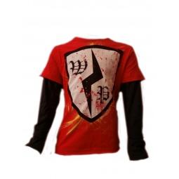 Купить Лонгслив детский Warrior Poet Lightning Shielg T-Shirt