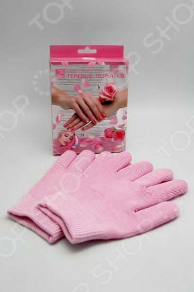 Увлажняющие гелевые перчатки Beauty Style с экстрактом розы