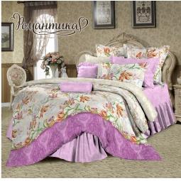 фото Комплект постельного белья Романтика «Эсмеральда». 2-спальный