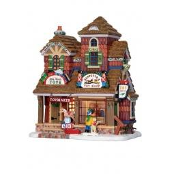 фото Домик керамический Lemax «Магазин игрушек: Джеппетто»