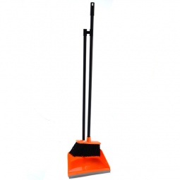 фото Набор из совка и швабры IDEA М 5177. Цвет: оранжевый