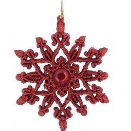 фото Украшение-подвес новогоднее Феникс-Презент 34984 «Снежинка»