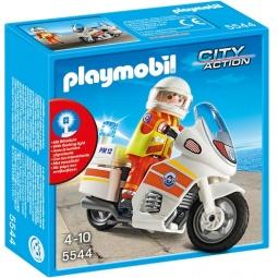 фото Конструктор игровой Playmobil «Береговая охрана: Мотоцикл первой помощи с мигалкой»