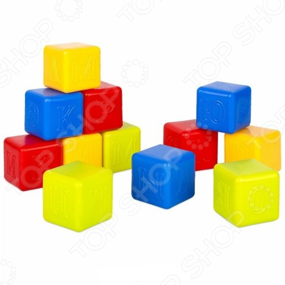 Кубики обучающие Росигрушка «Азбука» 40755