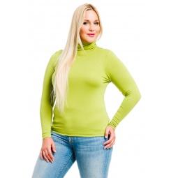 фото Водолазка Mondigo XL 046. Цвет: зеленый. Размер одежды: 48