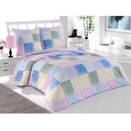фото Комплект постельного белья Tete-a-Tete «Кубики». 1,5-спальный