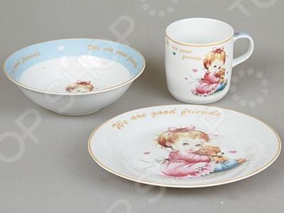 Набор посуды для детей Rosenberg 8794