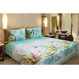фото Комплект постельного белья Amore Mio Mint. Mako-Satin. 1,5-спальный