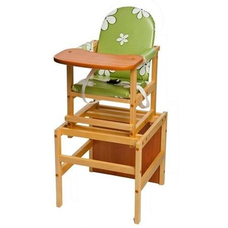 Купить Стол-стул для кормления ПМДК «Октябренок. Ромашки зеленые»