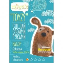 фото Набор для изготовления мягкой игрушки mySweeBe «Собачка»