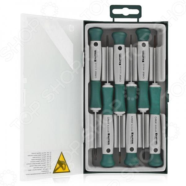 Набор отверток Kraftool Electronic-Kraft 25031-H6_z01 клещи kraftool 250мм electro kraft 2202 10 25 z01