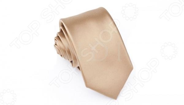 Галстук Mondigo 34124Галстуки. Бабочки. Воротнички<br>Галстук Mondigo 34124 станет важным дополнением гардероба каждого мужчины, ведь стильный и правильно подобранный галстук способен превратить повседневный классический образ мужчины в стильный и современный образ делового человека. Галстук выполнен из высококачественной микрофибры горчичного цвета. Модель послужит прекрасным дополнением костюма и будет гармонично смотреться как в офисе, так и на официальных торжественных мероприятиях. Ширина у основания галстука составляет 7 см.<br>