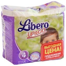 Купить Трусики детские LIBERO UP&GO Maxi, 18 шт
