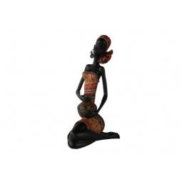 фото Фигурка Феникс-Презент «Сидящая африканка с кувшином»