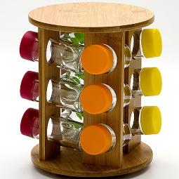 Купить Набор для специй на подставке Mayer&Boch MB-23257 «Бамбук»