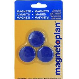 фото Набор магнитов в блистере Magnetoplan Magnum. Цвет: синий