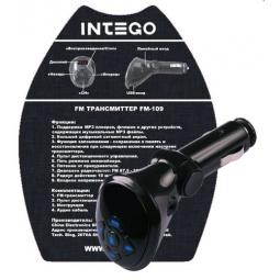 Купить FM-трансмиттер с пультом ДУ Intego FM-109