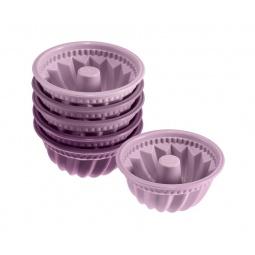 фото Набор форм для выпечки силиконовых Lurch FlexiForm Mini Bundt Cake Set