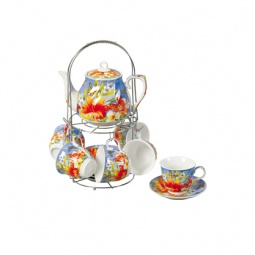 фото Чайный набор на подставке Grazie «Лето» с чайником
