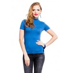 фото Водолазка Mondigo 037. Цвет: джинсовый. Размер одежды: 42