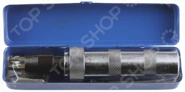 Отвертка ударно-поворотная с битами Stayer 2565-H6