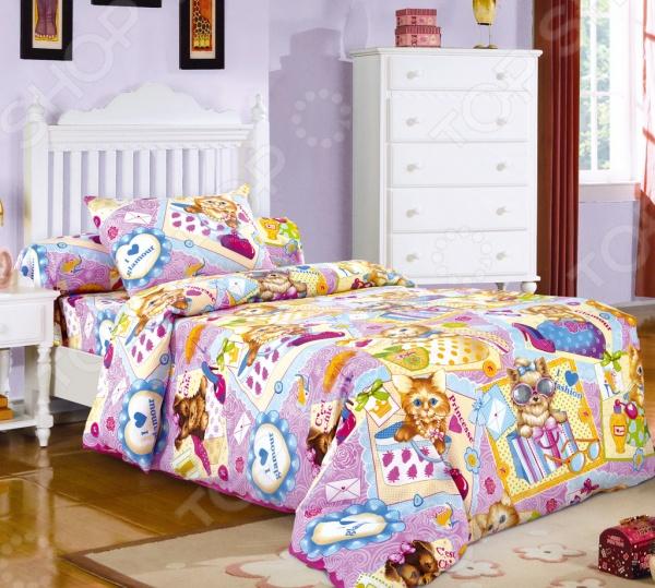 Ясельный комплект постельного белья Бамбино «Модники»