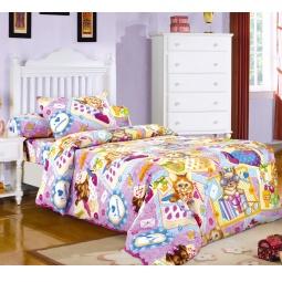 фото Ясельный комплект постельного белья Бамбино «Модники»