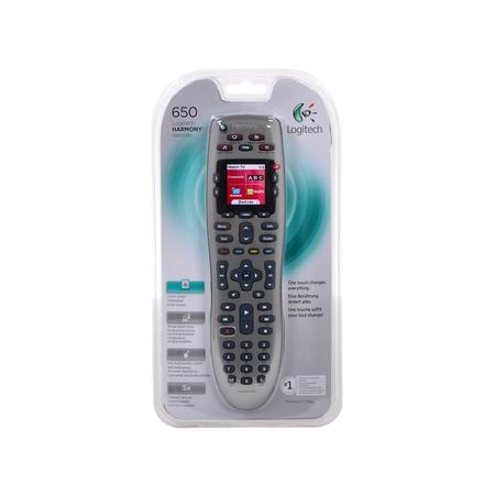 Купить Пульт дистанционного управления Logitech Harmony 650