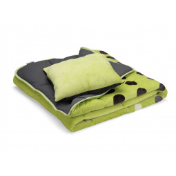 Купить Покрывало для кровати Dormeo Symphony 3 в 1. 2-спальный. Цвет: зеленый