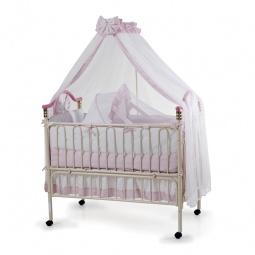фото Кроватка-трансформер детская Geoby 05TLY632. Цвет: розовый